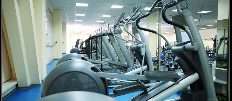 Fitness Room Light Solution